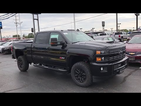 2018 silverado midnight edition 2500