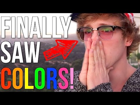 THESE GLASSES CURED MY COLORBLINDNESS!