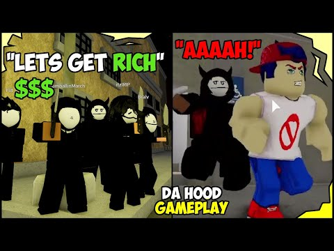Download ROBBING PLAYERS IN DA HOOD FOR MONEY! (ROBLOX) 😂🔪