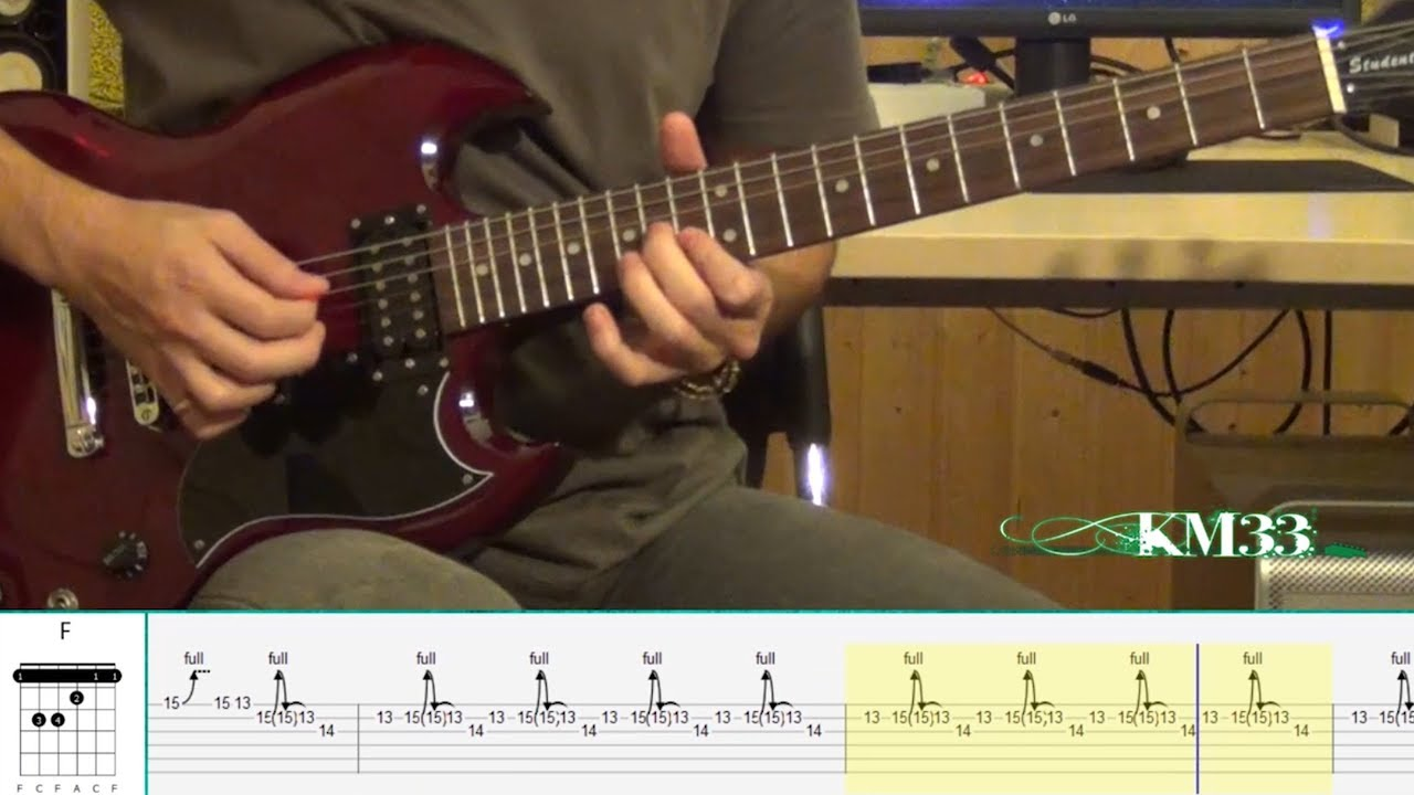Led Zeppelin - Stairway To Heaven - Guitar Solo (Tutorial ...