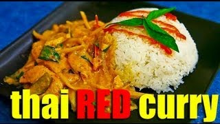 How To Make Thai Red Curry (kaeng Phet Daeng Kai)