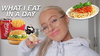 WHAT I EAT IN A DAY *VERY realistic* August 2020