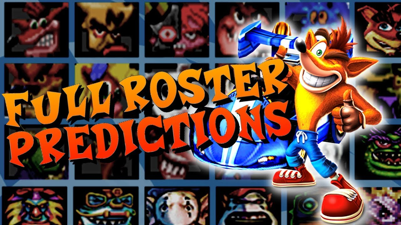 Crash Team Racing Nitro-Fueled | FULL CHARACTER ROSTER PREDICTIONS