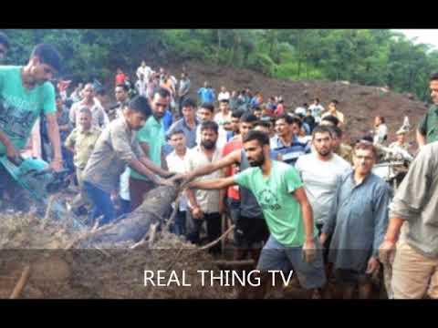 Breaking India landslide buses swept off mountainside