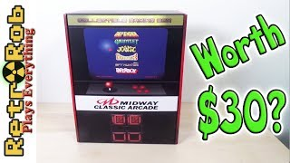 Unboxing the Midway Classic Arcade Collectible Box from Target