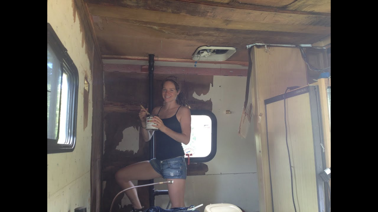 Toyota RV/Camper Remodel: Winnieu0027s Transformation With Brittany Taylor    YouTube