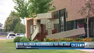 Fire Chief Recommendation