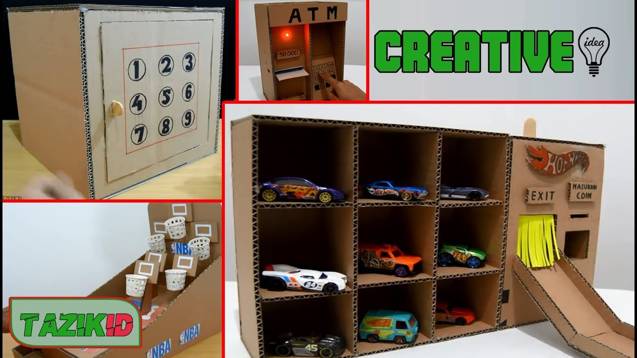 Amazing 10 Creative Ideas With Cardboard Box Youtube,Master Bedroom Modern Indian Bedroom Furniture Designs