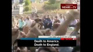 Death to America Death to England Death to Israel!
