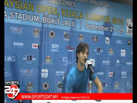 Joao Sousa interview
