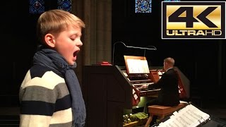 Let the Bright Seraphim - Aksel JS Rykkvin (boy soprano) - Magne H Draagen (organ) - April 2015