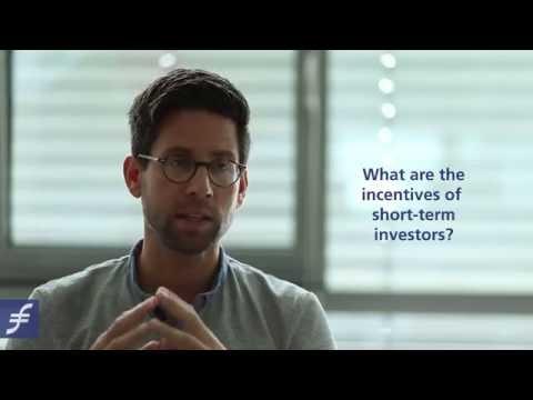 Prof. Dr. Zacharias Sautner on investments and short-termism