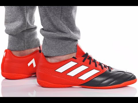e1d1031e6e Unboxing Review Adidas Futsal ACE 17.4 IN BB1766 - YouTube