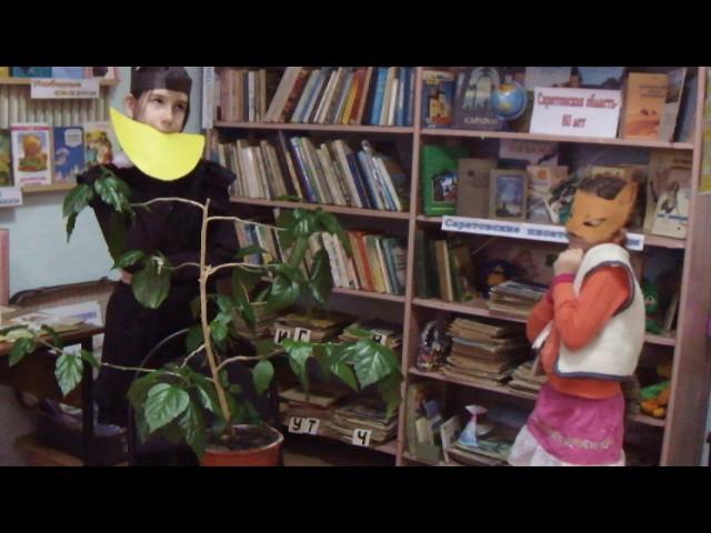 Изображение предпросмотра прочтения – «Читающая детвора» читают произведение «Ворона и Лисица» И.А.Крылова