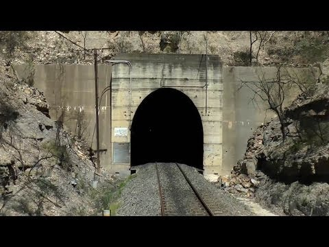 Cab Ride through Longest Tunnel in NSW: Australian Trains
