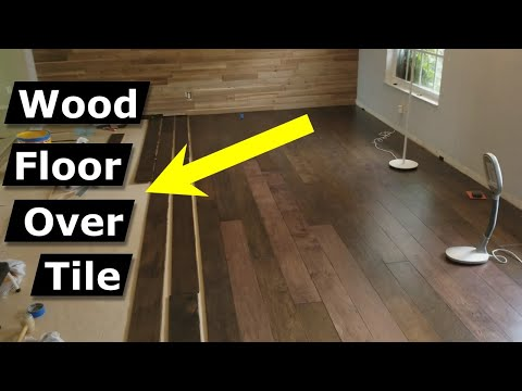 install-hardwood-flooring-over-tile-floor-double-glue-down-method