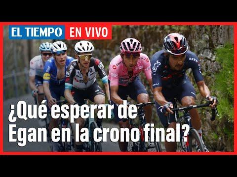 El Tiempo en vivo: ¿Qué esperar de Egan en la crono final?   Giro de Italia