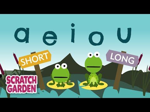 The Vowel Song: Long and Short Vowel Sounds  Learning English for Kids