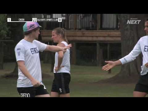 Credo (Christchurch) Vs Old Boys Sports Club (Auckland)   Ultimate Frisbee   Sky Sport Next