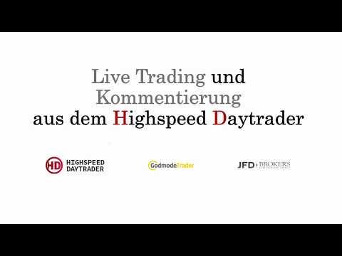 Live Trading Dow Jones  - Kombination von Order Flow und CFDs