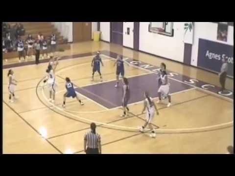 Agnes Scott Basketball 2010-11 Highlights Part 1