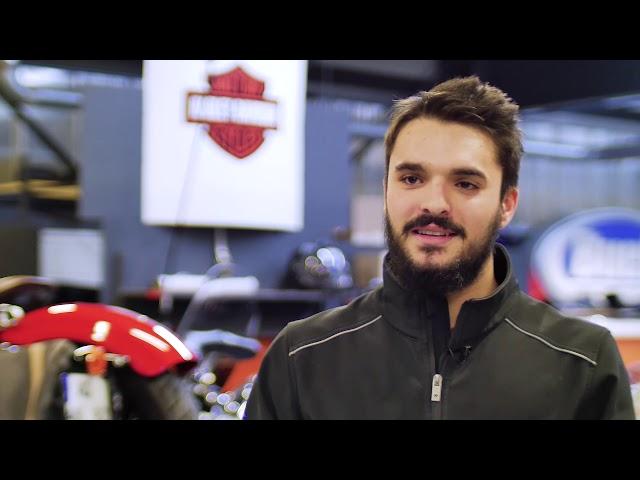 Portrait // Boris CASTANIER - Apprenti mécanicien / Harley-Davidson Nantes