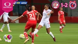 Veracruz aniquila a las diablas | Toluca 1 - 2 Veracruz | Liga MX Femenil - J8 | Televisa Deportes