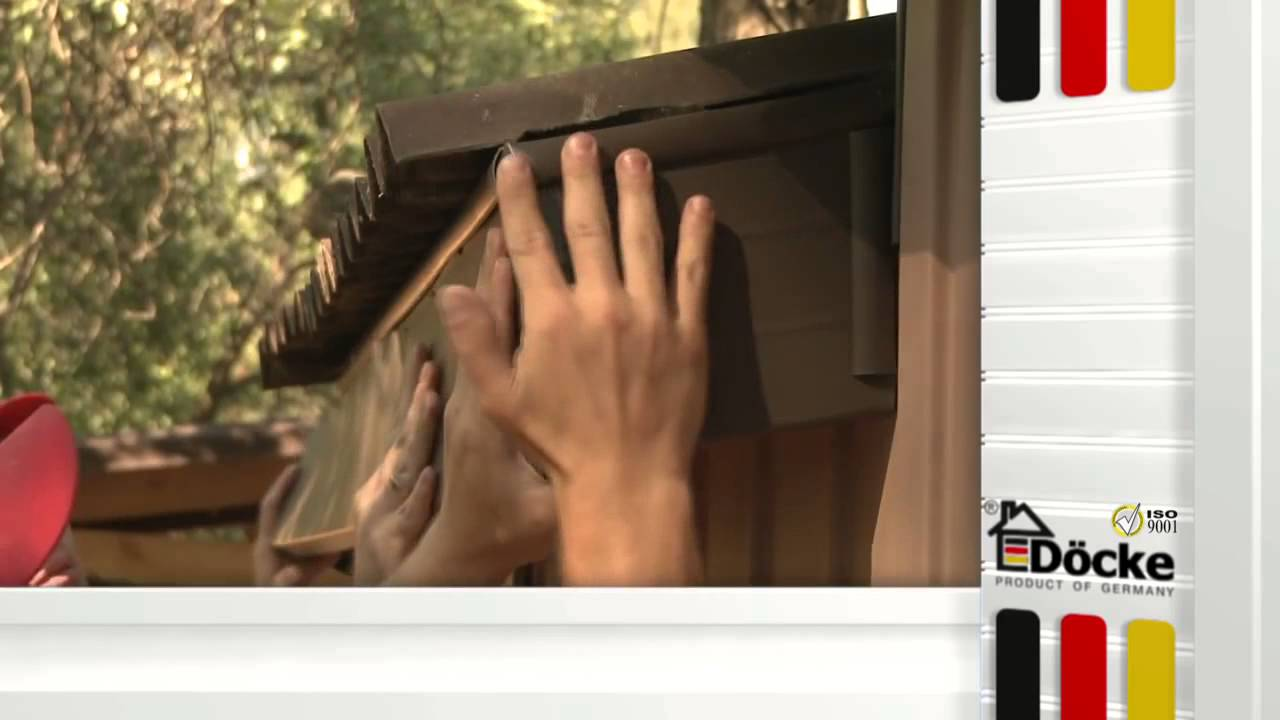 Сайдинг Ю-Пласт, серия Тимберблок Дуб - YouTube