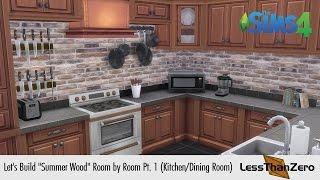 "Let's Build ""summer Wood"" Room By Room Pt. 1 (kitchen & Dining Room)"