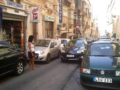 """""""Valletta Malta"""" tourist view shops streets"""