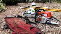 Tree Removal:  Preparation and Equipment