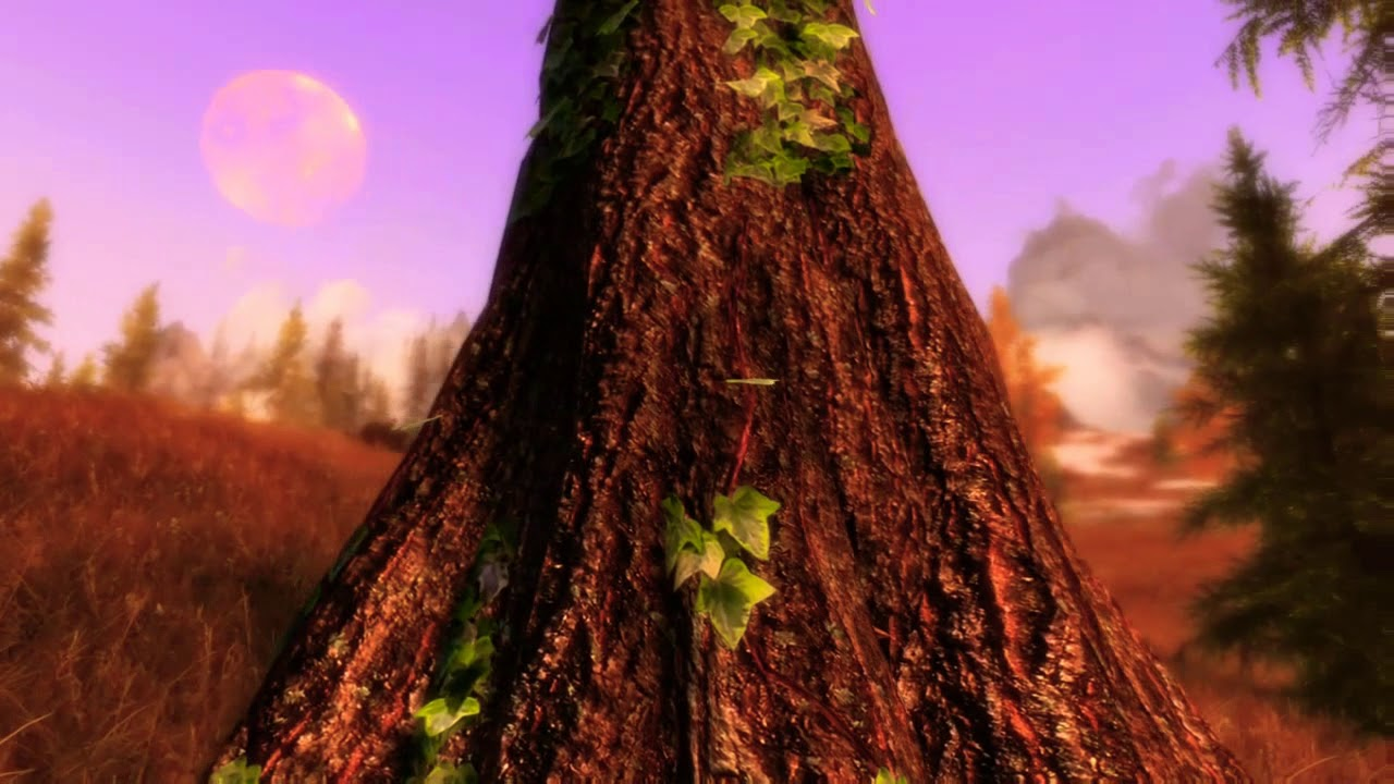 Skyrim mods xboxone- Divine texture pack - Trees by Pandamarie gaming