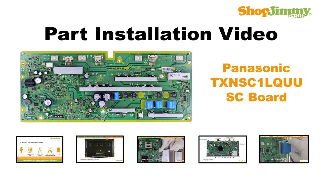 panasonic tc p50c2 plasma hdtv service manual