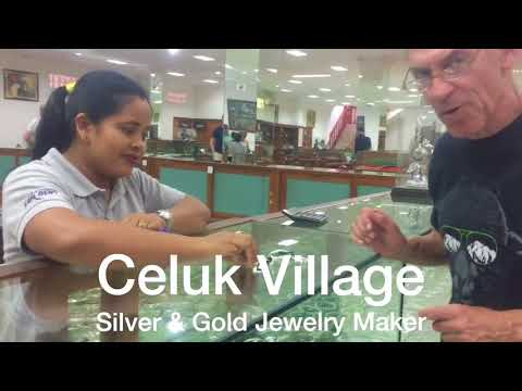 Celuk Village - Bali Silver & Gold Jewelry Maker