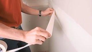 Как заделывать швы гипсокартона бумажной лентой(Разбираться более подробно как правильно заделывать швы гипсокартона, как шпаклевать армирующую сетку..., 2015-04-27T10:48:30.000Z)