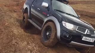 Баттл : Mitsubishi L200 Vs.Nissan Pathfinder