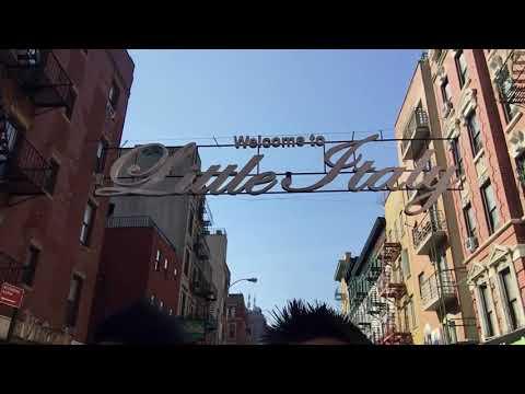 Guys Around The Globe NYC Little Italy