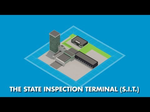 State Inspection Terminal port of Rotterdam