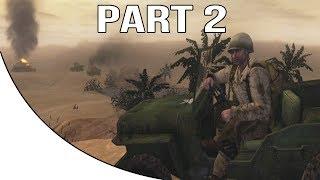 Call Of Duty 2 Big Red One Gameplay Walkthrough Part 2 Kasserine Pass