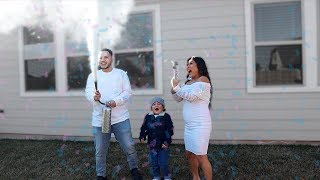 OUR GENDER REVEAL! *EMOTIONAL*