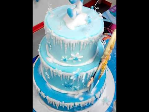 Frozen Elsa Party Torta Cake Design Youtube