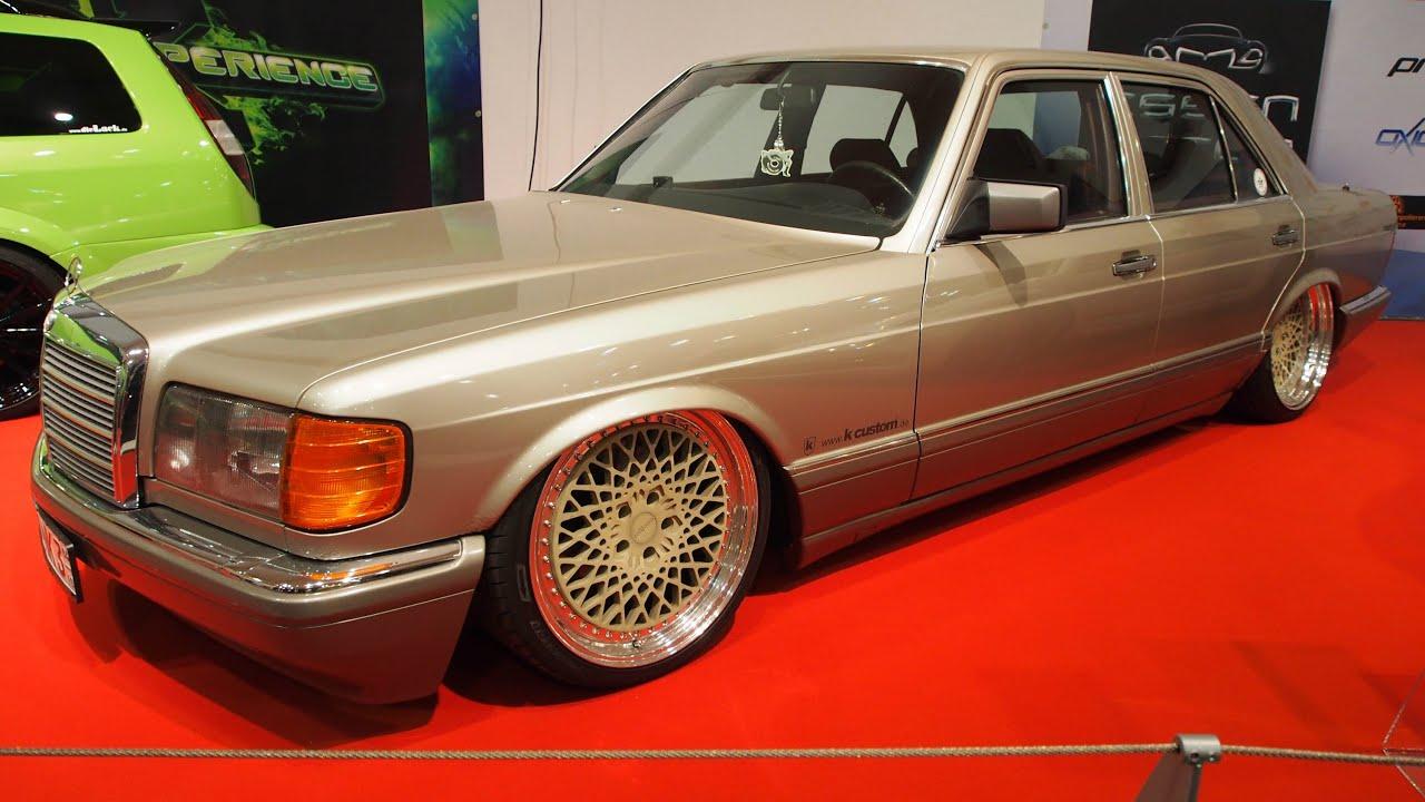 Mercedes benz s klasse 420 se w126 204 ps tuning at essen for Mercedes benz s 420