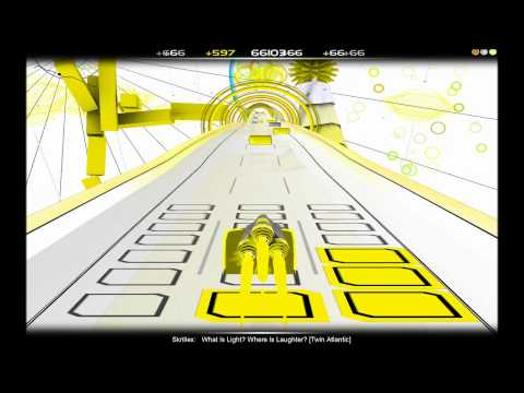 Audiosurf - Skrillex - What Is Light? Where Is Laughter?