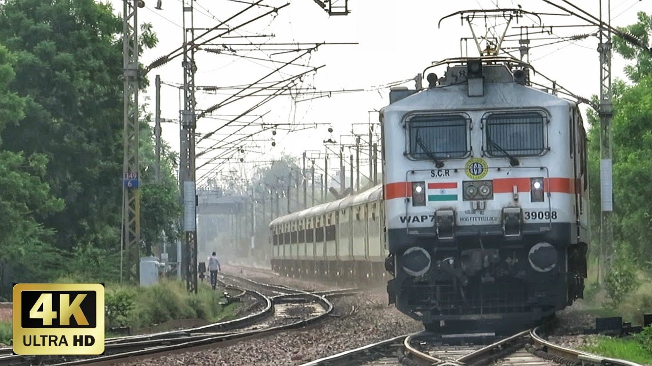 एक के बाद एक रफ्तार पकड़ती स्पेशल ट्रेने | Back to Back Speeding COVID-19 SPECIAL TRAINS