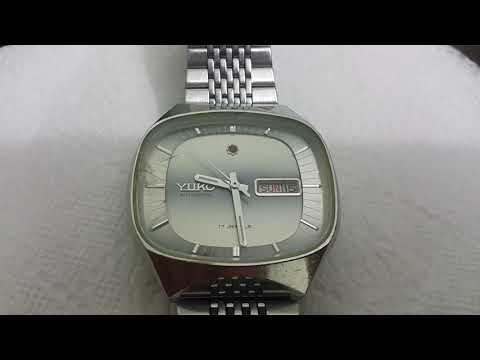 YUKO Automatic 17 jewels Vintage Watch HD