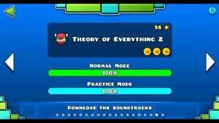 Скачать Geometry Dash Level 18 Theory Of Everything 2 100