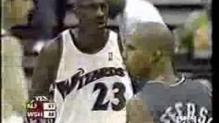 Michael Jordan 2003: NBA Record 43pts at age 40