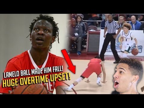 CRAZIEST HIGH SCHOOL BASKETBALL GAME EVER! Lamelo Ball & Chino Hills vs Bol Bol & Mater Dei!