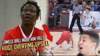craziest high school basketball game ever lamelo ball chino hills vs bol bol mater dei