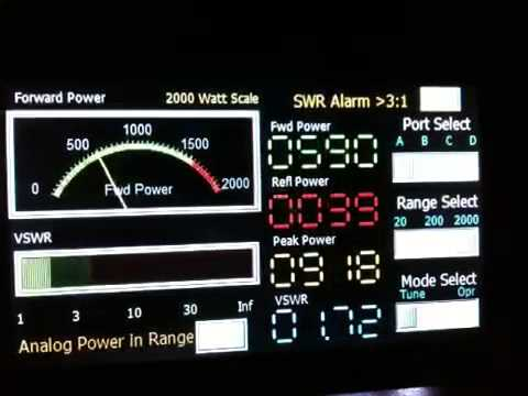 Applied Engineering Science Watt Meter Display